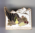 RARE PINS PIN'S .. ANIMAL COQUILLAGE SHELL CONQUE FRUIT RAISIN ALLEMONT 38 ~BS