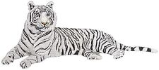 "White Tiger, Wildlife, Exotic Cat Embroidered Patch 5.2""x 12"""