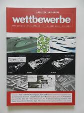Wettbewerbe Architekturjournal Architektur Zeitschrift Heft 205/206 2001 ++