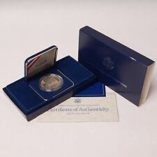 1987 Constitution Commemorative Proof Silver Dollar