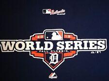 DETROIT TIGERS 2012 World Series MENS T-Shirt XXL 2XL blue adult baseball mlb