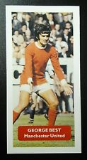 N IRELAND - MANCHESTER UNITED - GEORGE BEST - Score UK football trade card