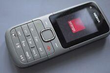 Nokia C1-01 (Orange) Basic simple senior Mobile Phone