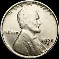 1925-D Lincoln Cent Wheat Penny  ----  Uncirculated  ---- #S788