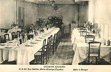 Salle a Manger, Pension Galilee, Rue Galilee, Paris France