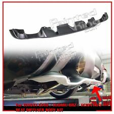16 For SUBARU BRZ Scion FRS For TOYOTA FRS 86 Rear Add-on Bumper Lower Diffuser