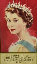 C.1953 Queen Elizabeth II Commemorative Coronation Tin. Rileys Toffee Vintage