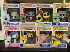 Funko Pop Lotto Bundle Set 8 Pezzi Fairy Tail Spongebob Aggretsuko