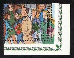 Belgien Jahrgang 1996 Blockmarke Eckrand Mi 2731 ** Motiv Weihnachten Kleidung
