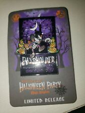 Disney Mickeys Halloween Party MNSSHP 2019 Pin LR Pass Holder Event Limited