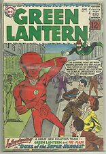Green Lantern #13 DC Silver Age (1962) Comic Book FN/FN+ (1st Flash X-Over)