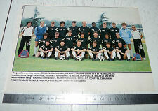 CLIPPING POSTER FOOTBALL 1987-1988 SCO ANGERS JEAN-BOUIN