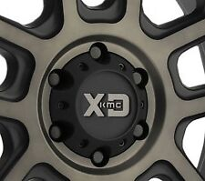 KMC XD828  Delta 6x139.7 Matte Black Center Cap fits 6x5.5 Chevy Nissan Wheels