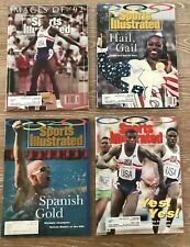Sports Illustrated Olympic Editions Set Of 4 Images Of 1992