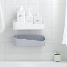 Wall Storage Organizer Shower Shelf Basket Sucker Rack Home Bathroom Tool Health