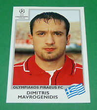 N°175 MAVROGENIDIS OLYMPIAKOS PANINI FOOTBALL CHAMPIONS LEAGUE 1999-2000