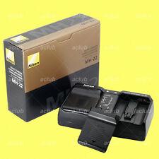 Genuine Nikon MH-22 Quick Charger EN-EL4 EN-EL4a battery D3X D3s D2X D2H D2Hs F6