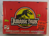 1993 Topps Jurassic Park Series 2 Sealed Box of 36 Trading Card Packs VERY RARE