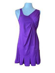 Adidas Dress Deep Plum Clima365 size Medium Tennis Wear Sports Sleeveless