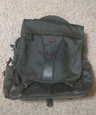"TUMI T-Tech Black Backpack Messenger padded Laptop Bag 55890 MacBook 15"""