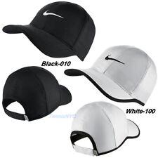 NIKE Men's Featherlight Tennis Running Hat Cap Swoosh Dri-Fit Adjustable 679421