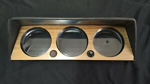 BMW 1502 2002tii instrument cluster housing with clock @Great@