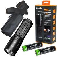 Fenix TK35UE 2018 3200 Lumen LED Tactical Flashlight w/ 3400mAh batteries TK35