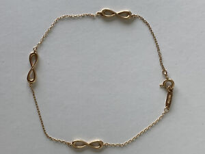 Tiffany & Co Endless Infinity Bracelet 18K Rose gold