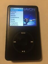 Apple iPod 6th Gen Black Upgraded To 128gb Sd Can Holds About 20,000 Songs