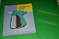 Pistol Grip Tool Tag Attach Gun With 1,000 Tag Connector Cords