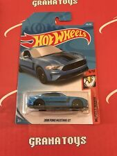 2018 Ford Mustang Gt #216 Muscle Mania 2018 Hot Wheels Case J