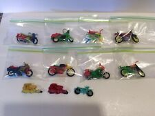 vintage plastic motorcycle toy