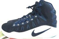 Nike Mens Size 13.5 Blue Shoes Basketball Hyperdunk Zoom 856483-442 New