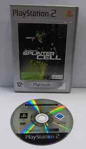 Console Gioco Game SONY Playstation 2 PS2 PAL Play TOM CLANCY'S SPLINTER CELL -