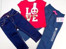 Lot Baby Girls Place T-shirt~Jordache Skinny Jeans~New Circo jeans Sz 12-18 M