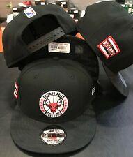 Chicago BULLS Snap back Snapback 9Fifty New Era 950 CAP Hat OSFA Black RED CAMO
