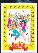 "1992 SKYBOX ""ARCHIE - The GANG"" PROMO TRADING CARD - V/Good Condition"