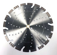 "2PK 14"" Pro Segmented Premium Laser Welded Diamond Blade-True 15MM Seg. Height"