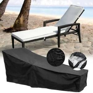 Waterproof Sun Lounger Cover Deck Chair Furniture Garden Patio Outdoor Protector
