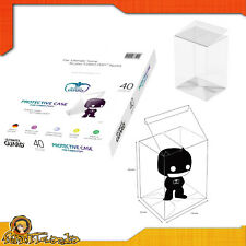 Case Box Of Protection For Funko Pop! 1 Part Protective Case Clear