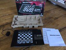Saitek Mephisto Talking Chess Academy Computer CT06U Mint Complete