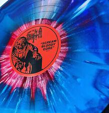 DEATH : Scream Bloody Gore (LP 2020) Merge Splatter Vinyl Ltd Ed (250) Love RSD