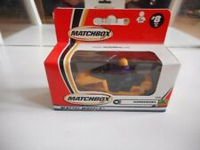 Matchbox Snowmobile in Yellow in Box