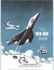 1956 PAPER AD 4 PG Wen Mac Toy Gas .049 Outboard Motor Hiller Flying Platform