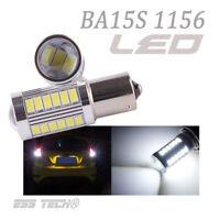 Ampoule 33 LED Blanc BA15S-1156 P21W feu Position Stop Clignotant 12V ESS TECH®