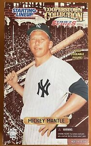 """Starting Lineup Mickey Mantle New York Yankees Cooperstown Collection 12"""" Figure"""