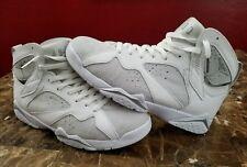 Air Jordan 7 VII Retro Pure Platinum 2017 sz 10 Basketball Shoes White Silver