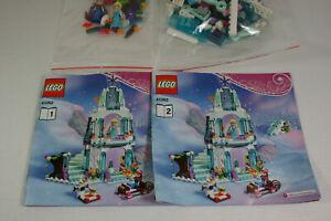 Lego Friends Set 41062 Disney Princess Elsas funkelnder Eispalast komplett OBA