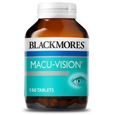 BLACKMORES MACU-VISION MACULAR EYE HEALTH 150 TABS RETINA ANTIOXIDANT MACUVISION