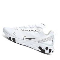 NIKE MENS Shoes React Element 55 Gel - White & Black - CU3009-100